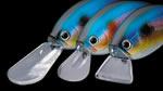 Daiwa Flat Flash Crank выпускается с лопастями трех видов