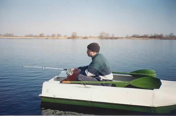 Отвесная ловля с лодки